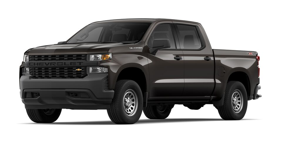 Chevrolet Silverado 2021 color Oxford metálico